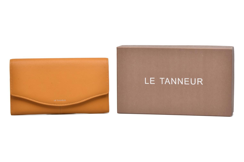 Wallets & cases Le Tanneur VALENTINE Porte-monnaie long anti-RFID Yellow detailed view/ Pair view