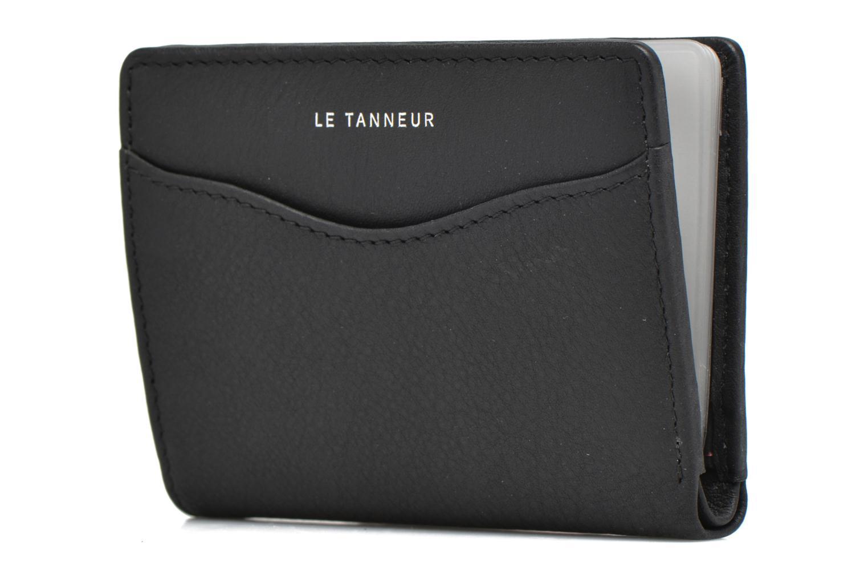 Kleine lederwaren Le Tanneur VALENTINE Porte-cartes anti-RFID Zwart model