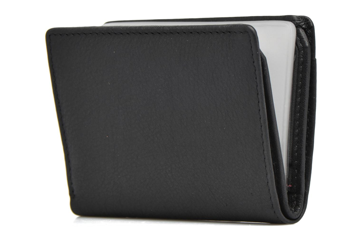 Wallets & cases Le Tanneur VALENTINE Porte-cartes anti-RFID Black view from the right
