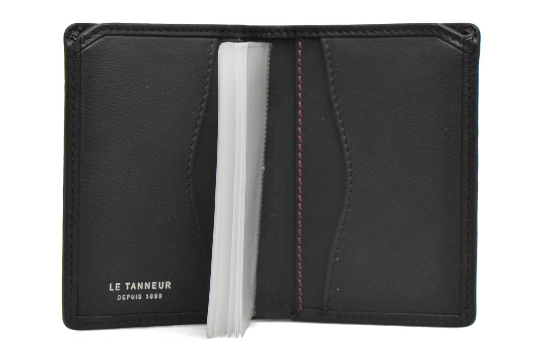 Wallets & cases Le Tanneur VALENTINE Porte-cartes anti-RFID Black back view