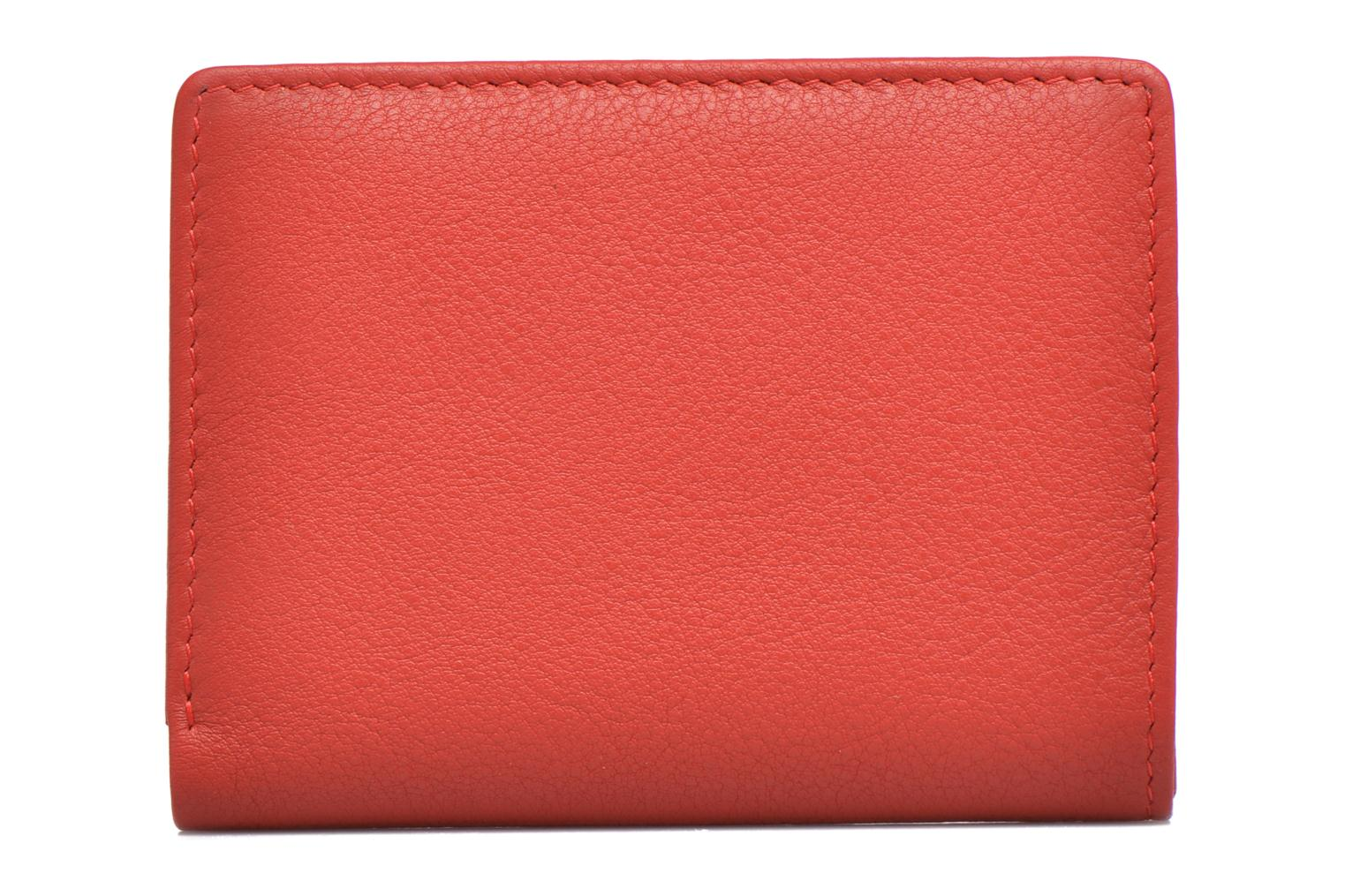 Wallets & cases Le Tanneur VALENTINE Porte-cartes anti-RFID Red front view