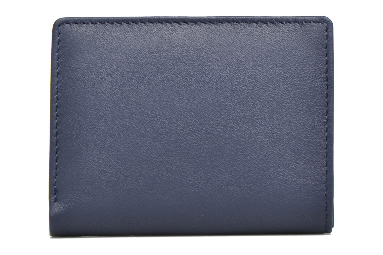 Portemonnaies & Clutches Le Tanneur VALENTINE Porte-cartes anti-RFID blau ansicht von vorne