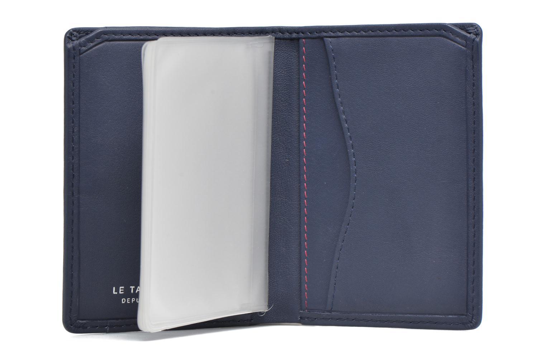Portemonnaies & Clutches Le Tanneur VALENTINE Porte-cartes anti-RFID blau ansicht von hinten
