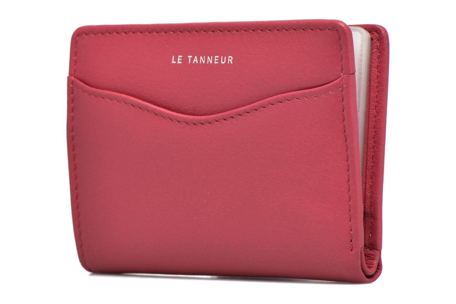 Wallets & cases Le Tanneur VALENTINE Porte-cartes anti-RFID Pink model view