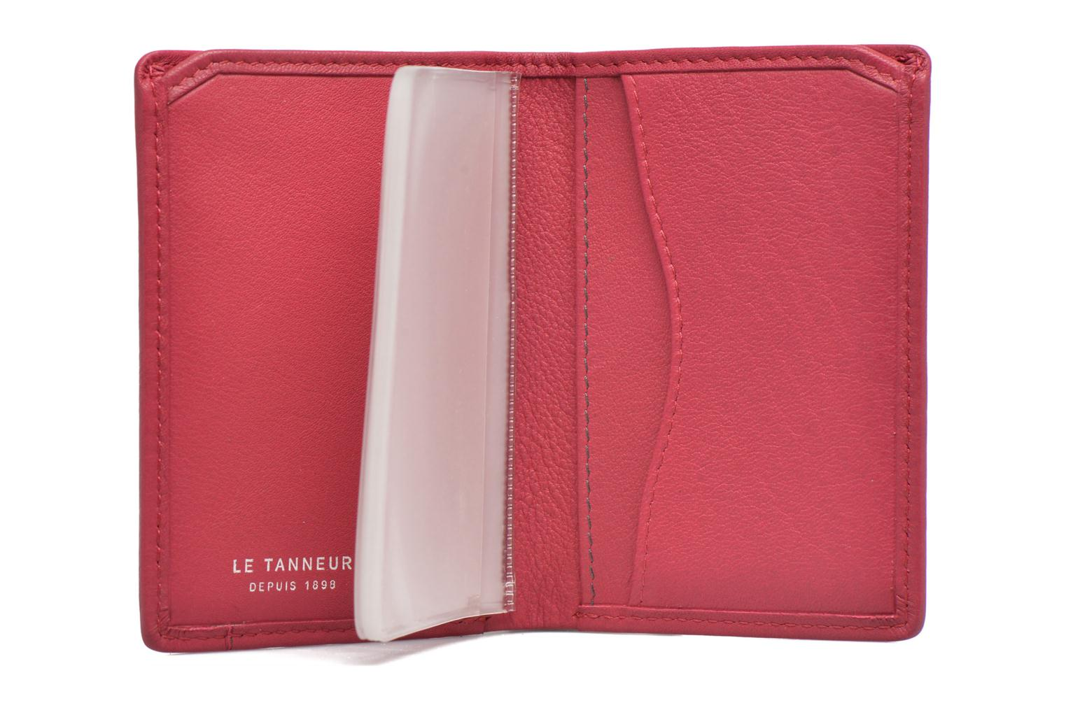 Wallets & cases Le Tanneur VALENTINE Porte-cartes anti-RFID Pink back view