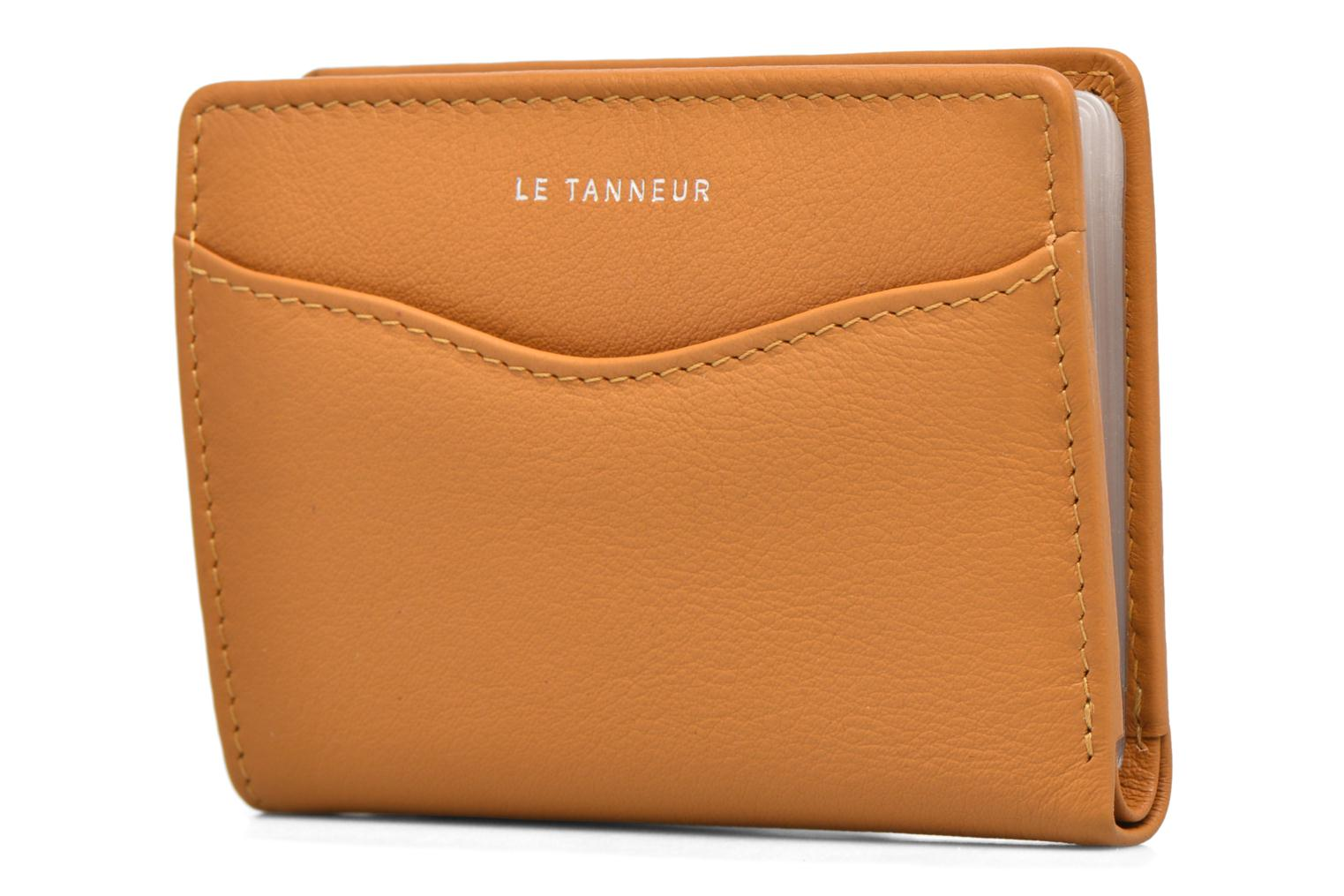 Wallets & cases Le Tanneur VALENTINE Porte-cartes anti-RFID Yellow front view