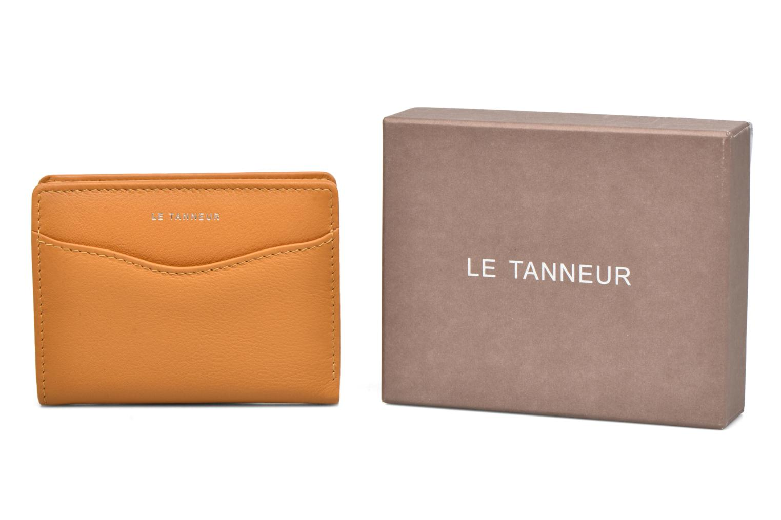 Wallets & cases Le Tanneur VALENTINE Porte-cartes anti-RFID Yellow detailed view/ Pair view