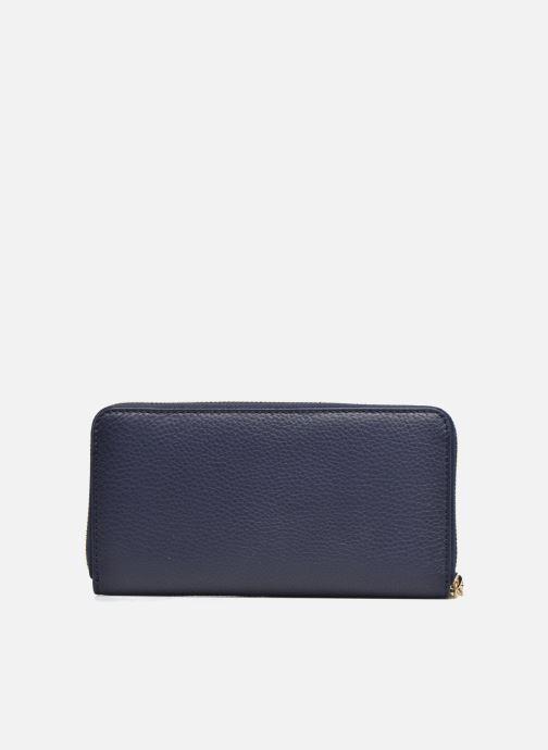 Petite Maroquinerie Le Tanneur CAPUCINE Porte-monnaie long zippé Bleu vue face
