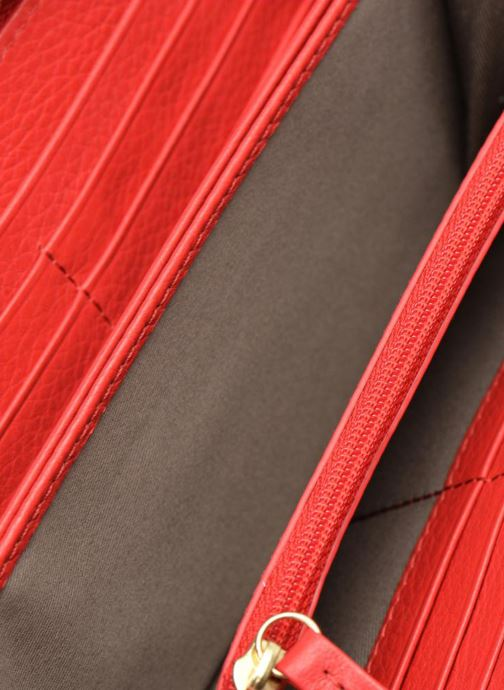 Kleine lederwaren Le Tanneur CAPUCINE Porte-monnaie long zippé Rood achterkant