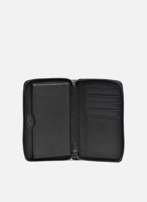 Petite Maroquinerie Le Tanneur AGATHE Porte-monnaie zippé téléphone Noir vue derrière