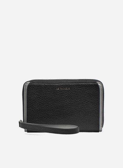 Petite Maroquinerie Le Tanneur AGATHE Porte-monnaie zippé téléphone Noir vue gauche