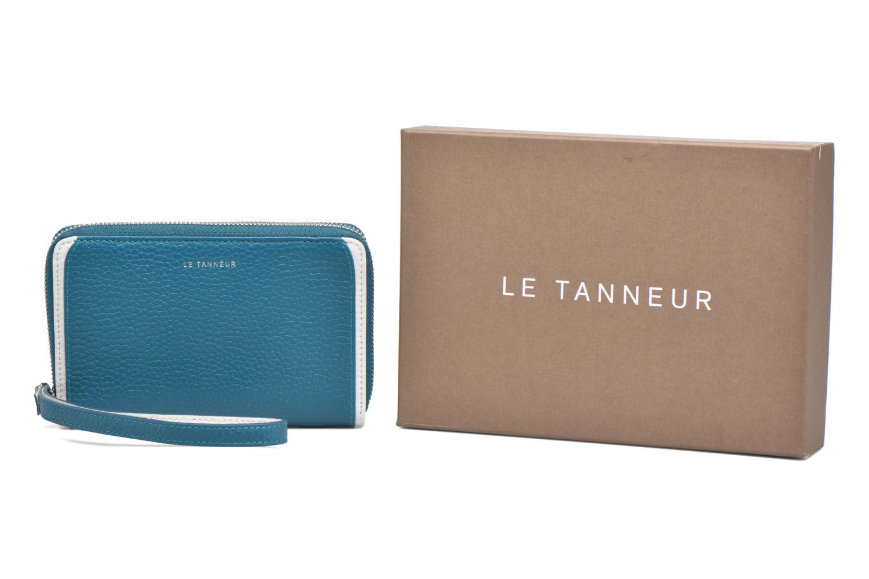 Punge og etuier Le Tanneur AGATHE Porte-monnaie zippé téléphone Blå detaljeret billede af skoene