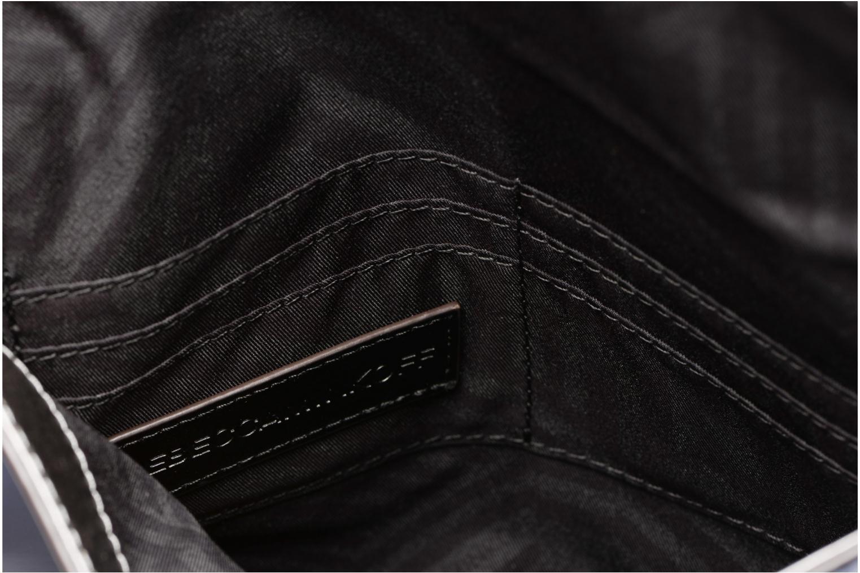 Pochette Rebecca Minkoff MIRRORED METALLIC LEO CLUTCH Azzurro immagine posteriore