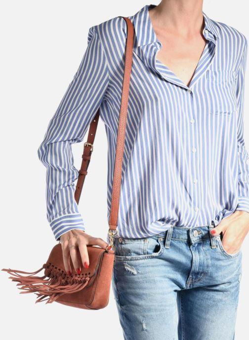 Bolsos de mano Rebecca Minkoff RAPTURE SMALL SHOULDER BAG Marrón vista de abajo