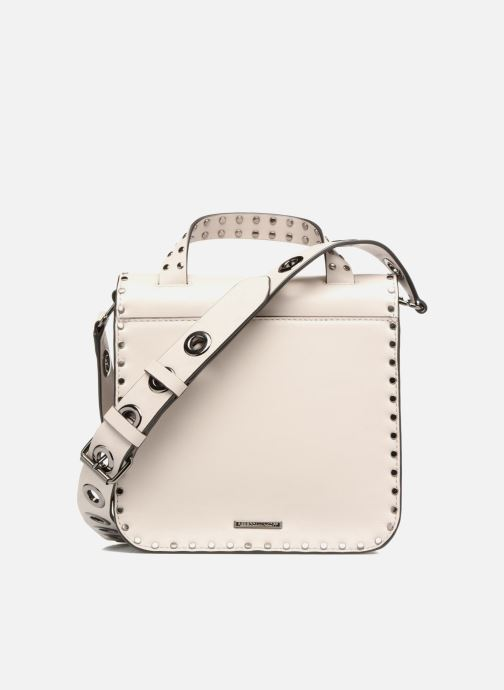 Sacs à main Rebecca Minkoff MIDNIGHTER TOP HANDLE FEED Gris vue face