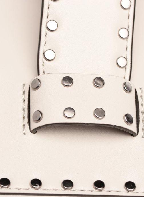 Bolsos de mano Rebecca Minkoff MIDNIGHTER TOP HANDLE FEED Gris vista lateral izquierda