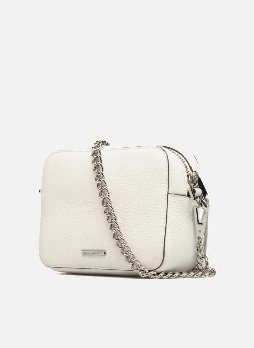 Rebecca Minkoff 4 Zip Moto Camera Bag (blanc) - Sacs À Main Chez