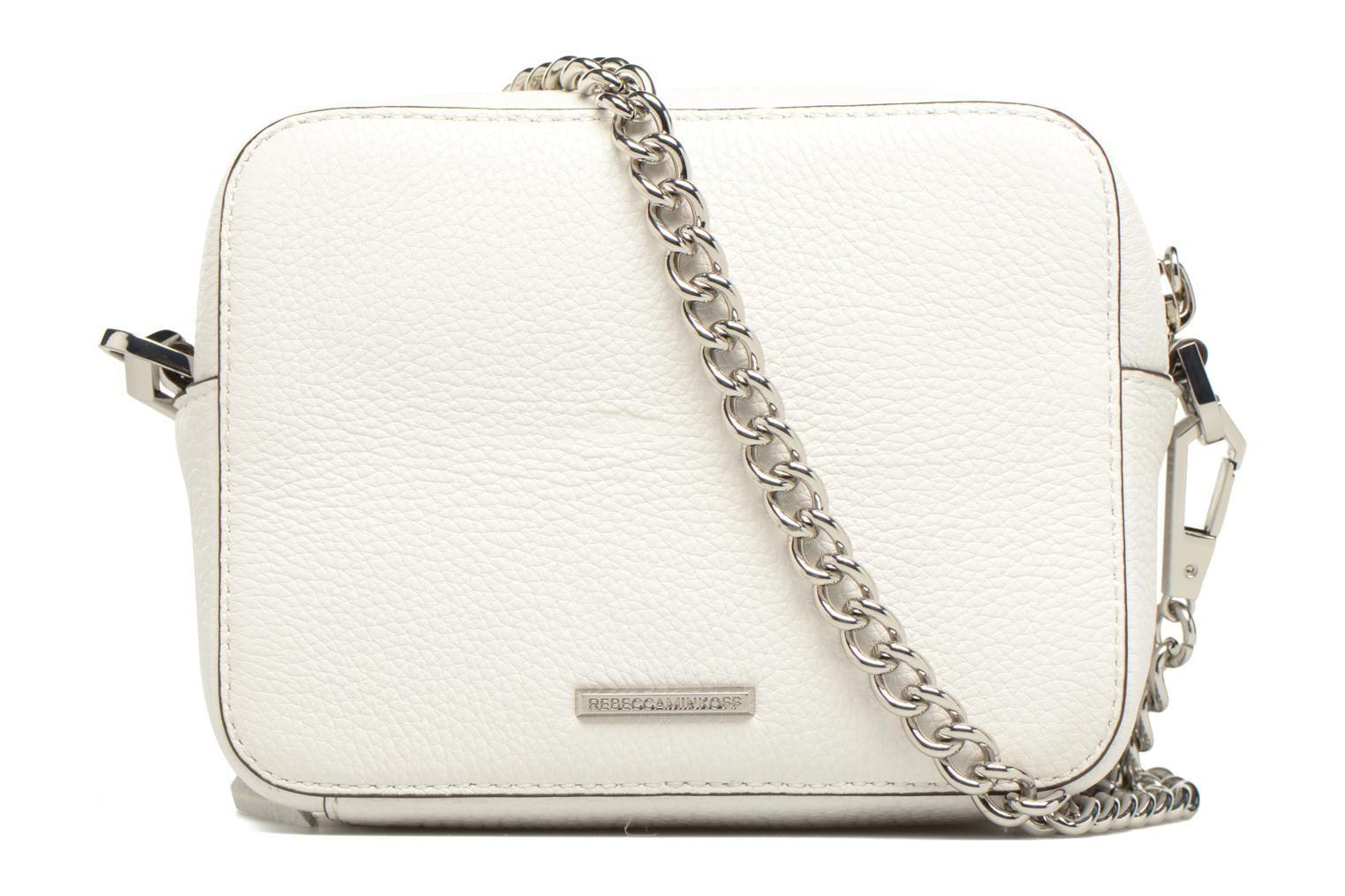 Sacs à main Rebecca Minkoff 4 ZIP MOTO CAMERA BAG Blanc vue face