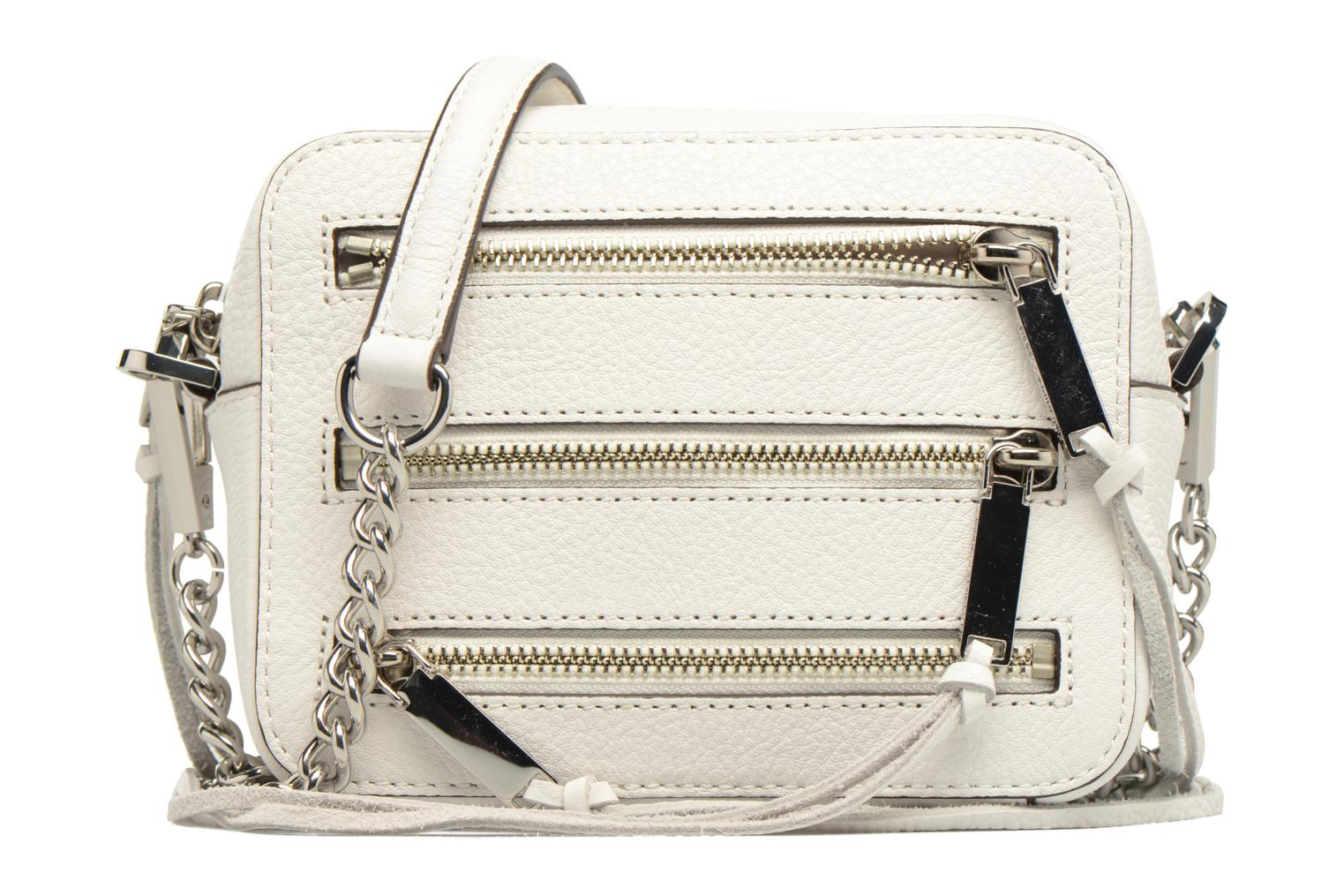 Sacs à main Rebecca Minkoff 4 ZIP MOTO CAMERA BAG Blanc vue détail/paire