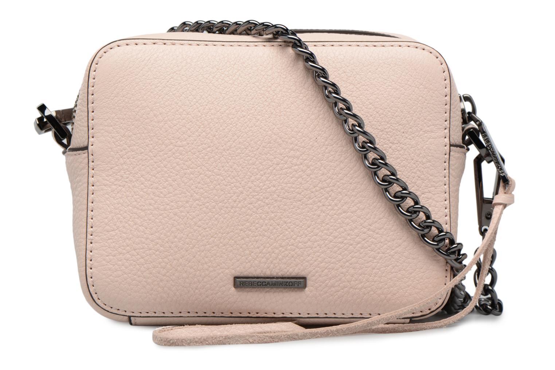 Handtaschen Rebecca Minkoff 4 ZIP MOTO CAMERA BAG rosa ansicht von vorne