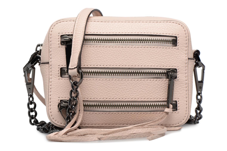 Handtaschen Rebecca Minkoff 4 ZIP MOTO CAMERA BAG rosa detaillierte ansicht/modell