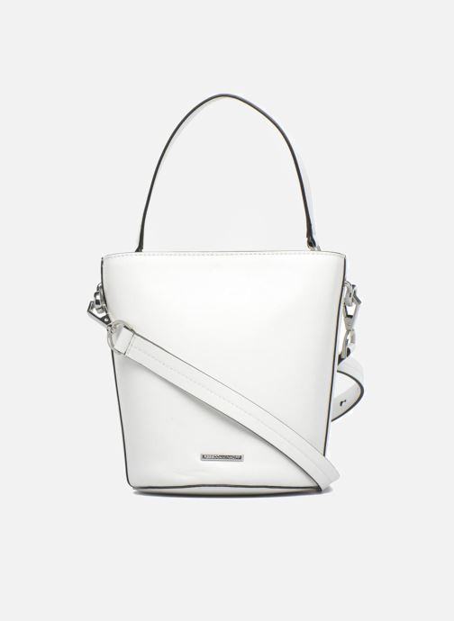 Sacs à main Rebecca Minkoff SOFIA TOP HANDLE BUCKET Blanc vue face