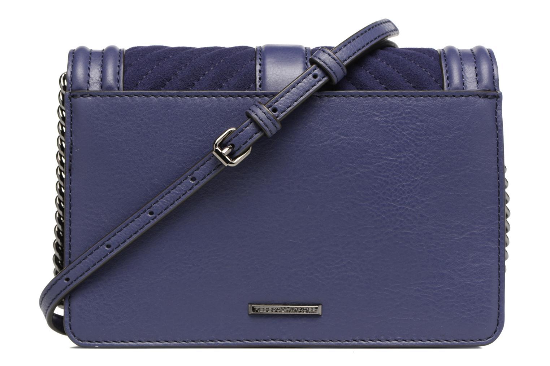Handtaschen Rebecca Minkoff CHEVRON QUILTED SMALL LOVE CRO blau ansicht von vorne