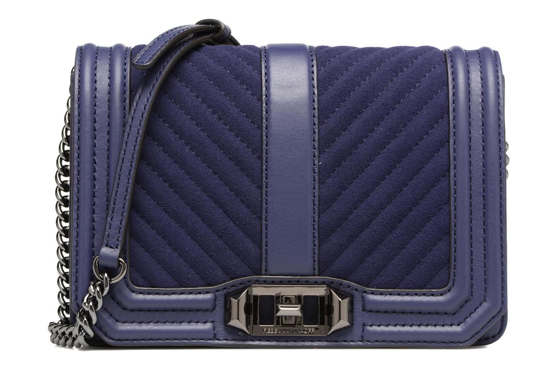Handtaschen Rebecca Minkoff CHEVRON QUILTED SMALL LOVE CRO blau detaillierte ansicht/modell