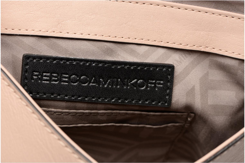 Handtaschen Rebecca Minkoff CHEVRON QUILTED SMALL LOVE CRO beige ansicht von hinten
