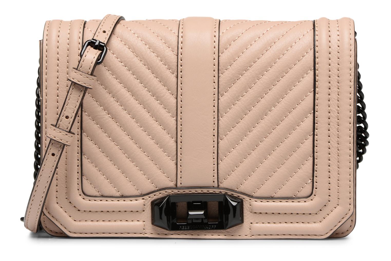 Handtaschen Rebecca Minkoff CHEVRON QUILTED SMALL LOVE CRO beige detaillierte ansicht/modell