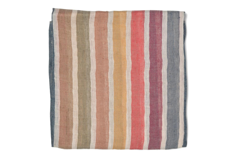 Schal Sonia Rykiel Etole rayée mehrfarbig schuhe getragen