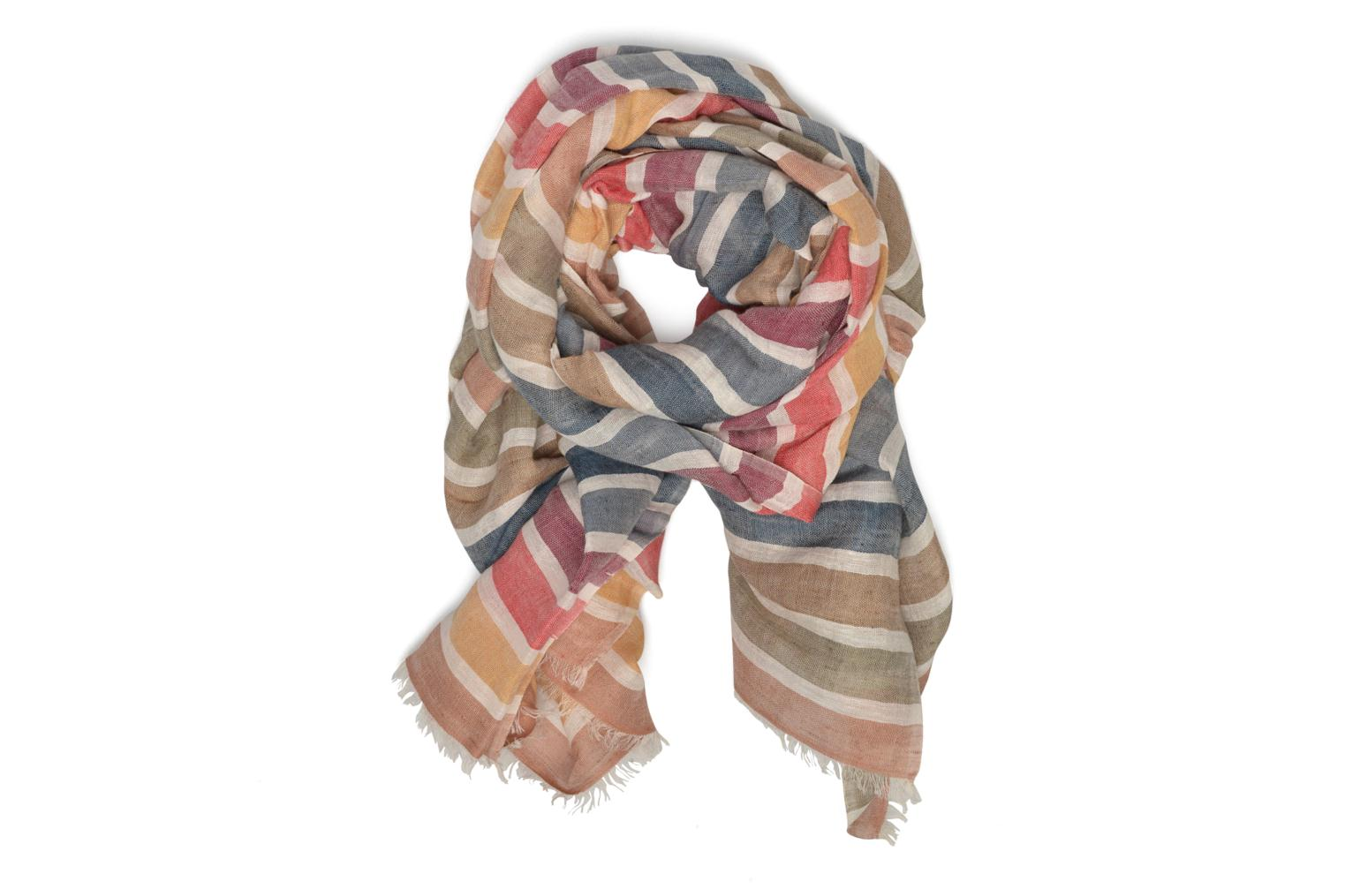 Scarf Sonia Rykiel Etole rayée Multicolor detailed view/ Pair view