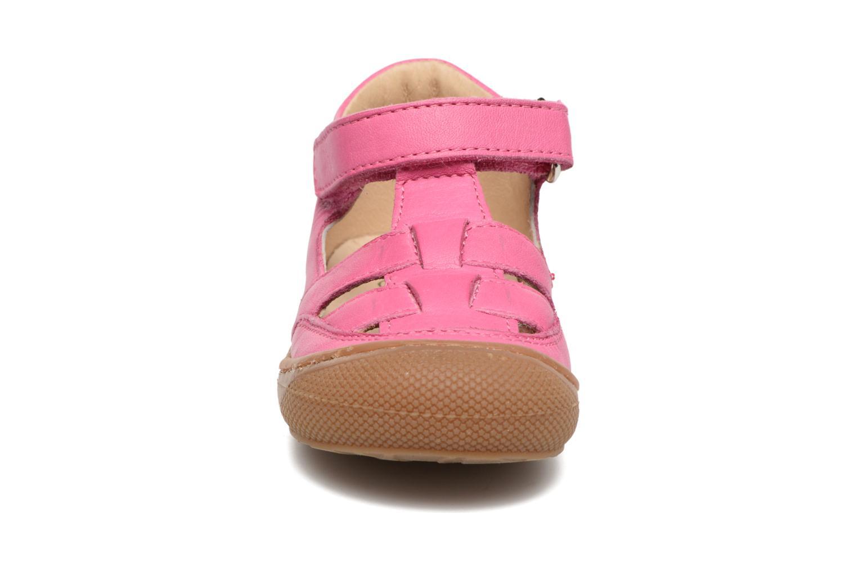 Bottines d'été Naturino Camilla 3997 Rose vue portées chaussures
