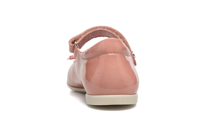Ballerina's Naturino Alissa 4524 Roze rechts