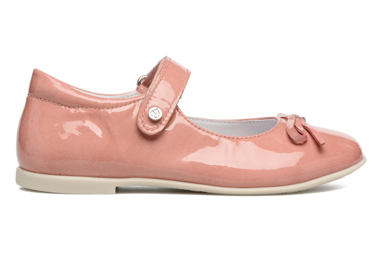 Ballerina's Naturino Alissa 4524 Roze achterkant