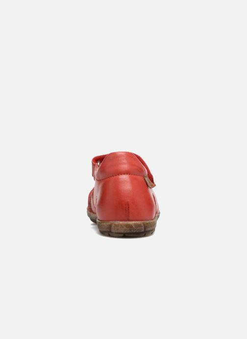 Sandales et nu-pieds Naturino See Rouge vue droite