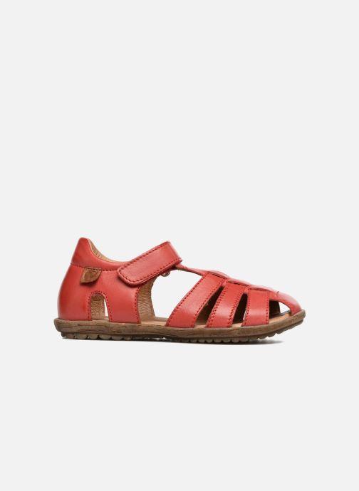 Sandales et nu-pieds Naturino See Rouge vue derrière