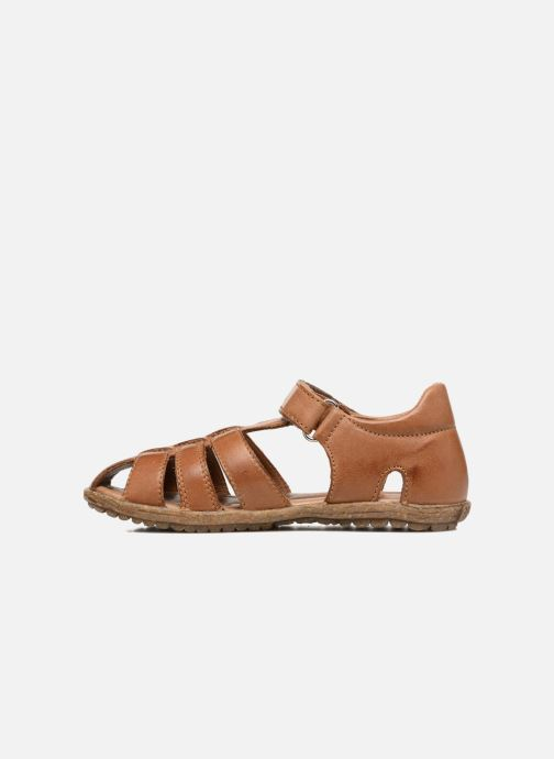 Sandales et nu-pieds Naturino See Marron vue face