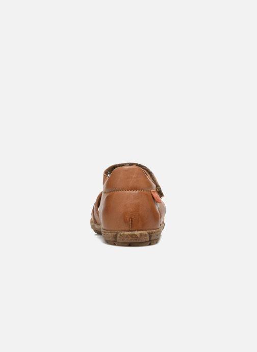 Sandales et nu-pieds Naturino See Marron vue droite