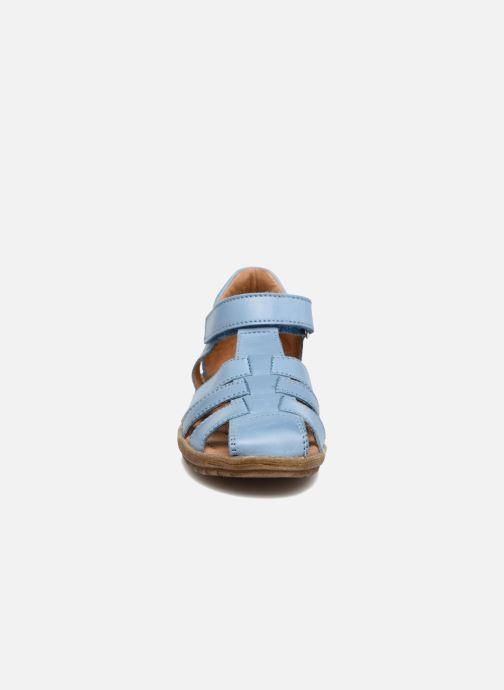 Sandalen Naturino See blau schuhe getragen