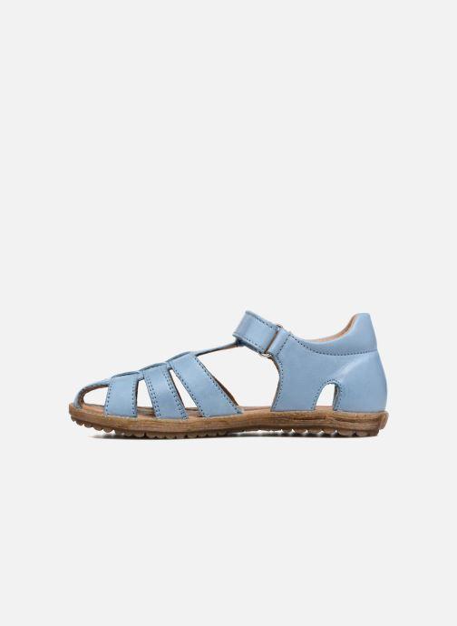 Sandales et nu-pieds Naturino See Bleu vue face