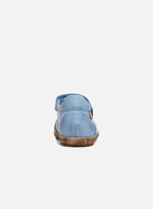 Sandales et nu-pieds Naturino See Bleu vue droite