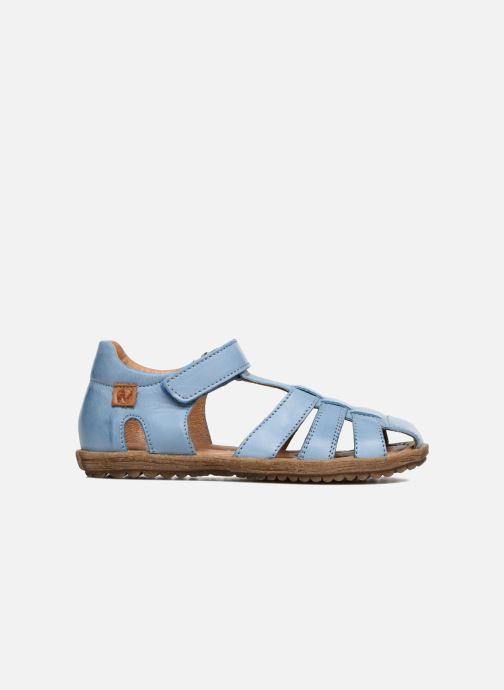 Sandales et nu-pieds Naturino See Bleu vue derrière
