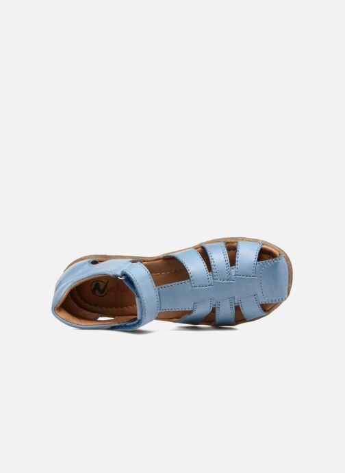 Sandales et nu-pieds Naturino See Bleu vue gauche