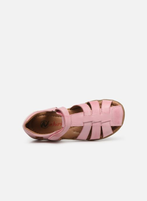 Sandales et nu-pieds Naturino See Rose vue gauche