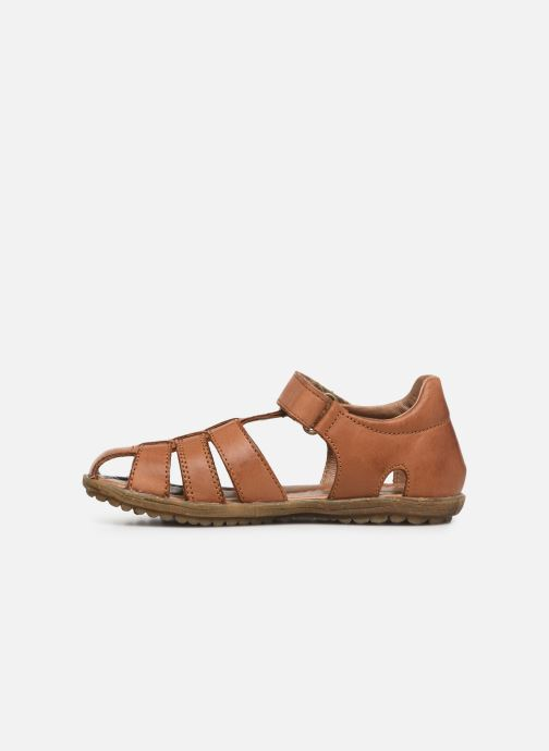Sandals Naturino See Brown front view