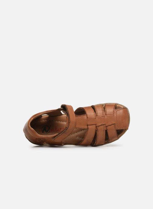 Sandales et nu-pieds Naturino See Marron vue gauche
