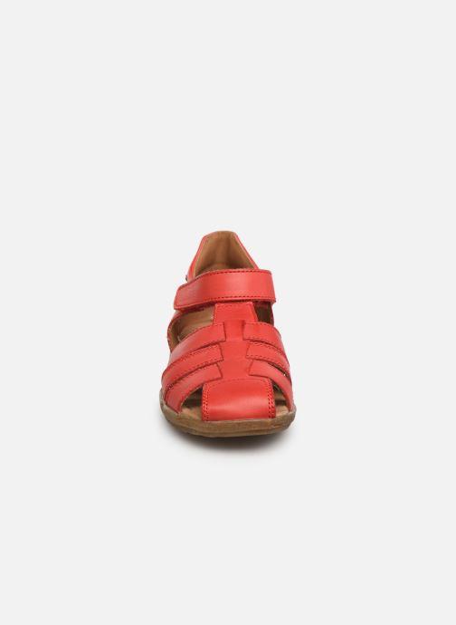 Sandalen Naturino See rot schuhe getragen