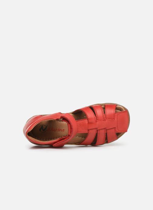 Sandales et nu-pieds Naturino See Rouge vue gauche