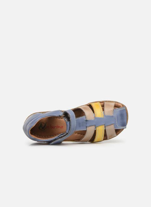 Sandales et nu-pieds Naturino See Multicolore vue gauche